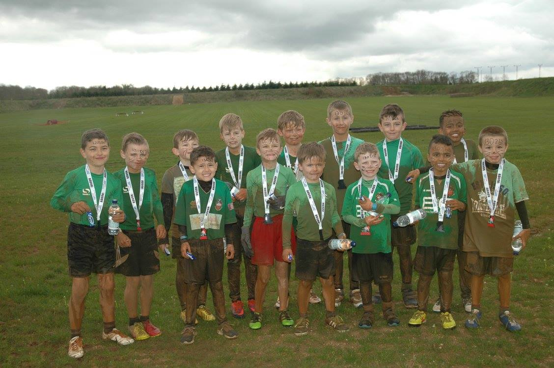 Rough Mud Finishers Picture